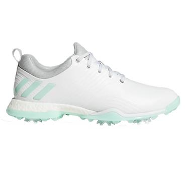 adidas Ladies Adipower 4orged Shoes White - Mint