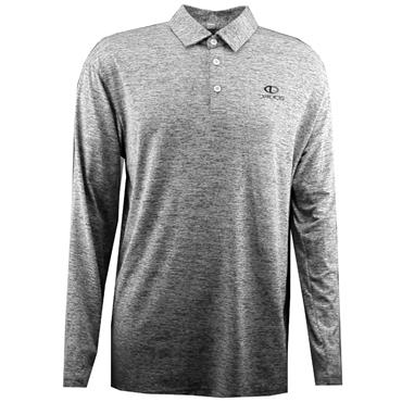 Druids Golf Gents Long Sleeve Polo Shirt Navy