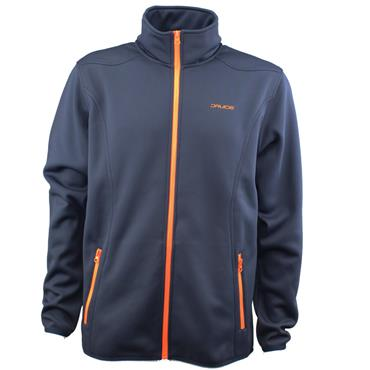 Druids Gents Full Zip Therma Midlayer Navy - Orange