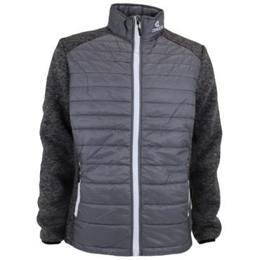 Druids Golf Gents Quilted Jacket Grey
