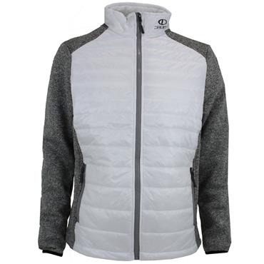 Druids Golf Gents Quilted Jacket White - Grey