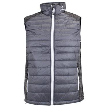 Druids Golf Gents Quilted Vest Grey