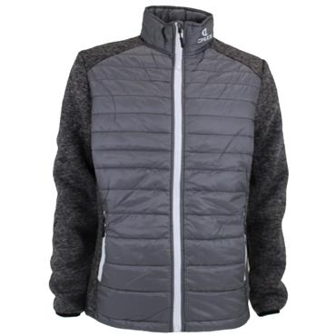 Druids Golf Ladies Quilted Jacket Grey