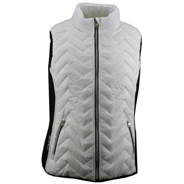 Druids Golf Ladies Prima Vest White