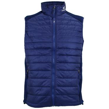 Druids Golf Ladies Quilted Vest Blue
