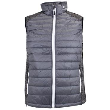 Druids Golf Ladies Quilted Vest Grey