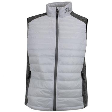 Druids Golf Ladies Quilted Vest White