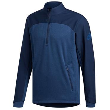 adidas Gents Go-To 1/4 Zip Sweatshirt Blue