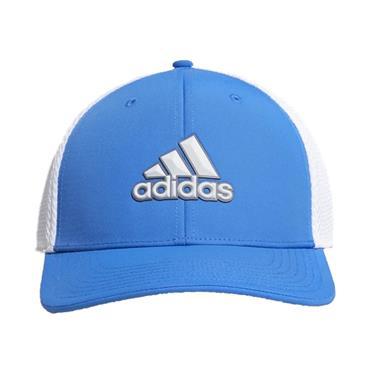 adidas Gents Stretch Tour Cap Blue - White