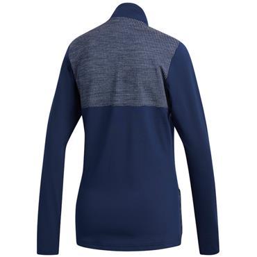 Adidas Ladies Layering 1/2 Zip Jacket Night Indigo
