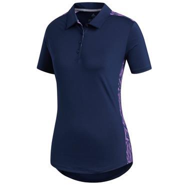 Adidas Ladies Ultimate 365 Novelty Polo Shirt Night Indigo