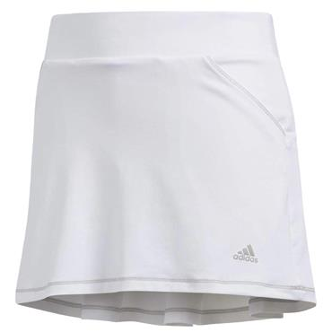 adidas Junior - Girls Pleat Skirt White