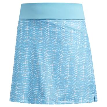 adidas Ladies Ultimate Printed Sport Skort Cyan