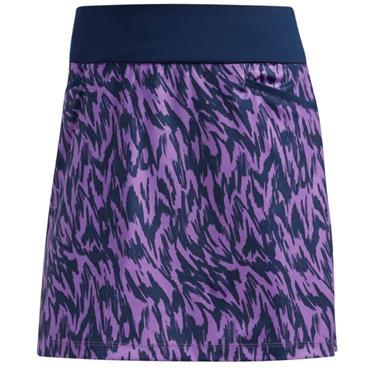 adidas Ladies Ultimate Printed Skort Active Purple