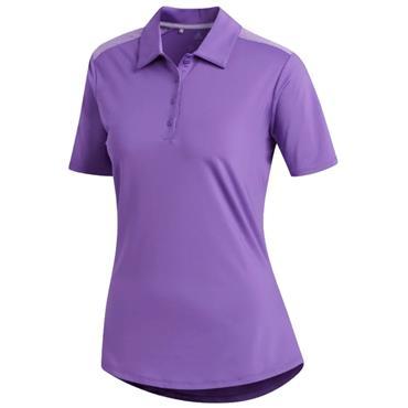 Adidas Ladies Ultimate 365 Polo Shirt Active Purple