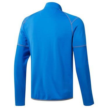 Adidas Gents Climawarm 1/4 Zip Gridded Pullover True Blue