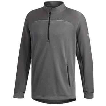 adidas Gents Go To 1/4 Zip Jacket Grey