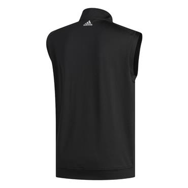 adidas Gents Classic Club ¼ Zip Vest Black