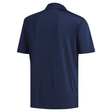 adidas Gents Ultimate365 Solid Crestable Polo Shirt Navy