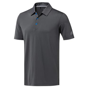adidas Gents Ultimate 365 Solid Polo Shirt Grey