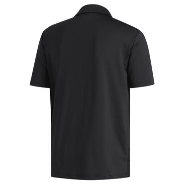 adidas Gents Ultimate365 Solid Crestable Polo Shirt Black - Grey