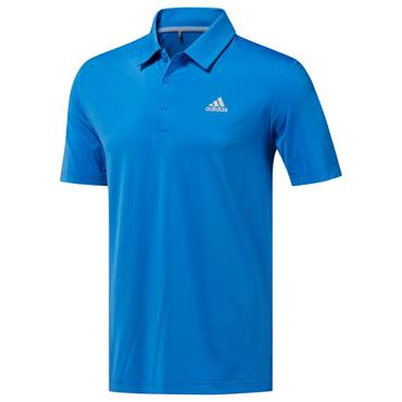 adidas Gents Ultimate 365 Solid Polo Shirt True Blue