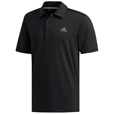 adidas Gents Ultimate 365 Solid Polo Shirt Black