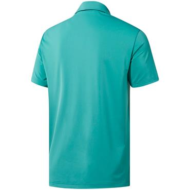 adidas Gents Ultimate 365 Solid Polo Shirt True Green