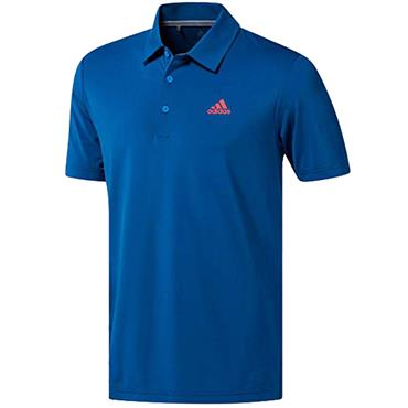 adidas Gents Ultimate 365 Solid Polo Shirt Dark Marine
