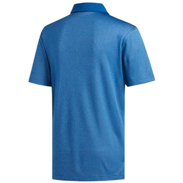 adidas Gents Climachill Core Heather Polo Shirt Dark Marine