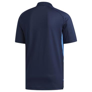 adidas Gents Ultimate365 Climacool Solid Polo Shirt Navy