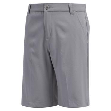 adidas Junior - Boys Solid Golf Shorts Grey Three