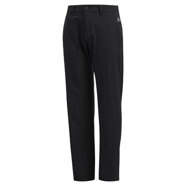 adidas Boys Solid Golf Trousers Black