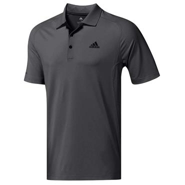 adidas Gents Ultimate365 Climacool Crestable Polo Shirt Carbon