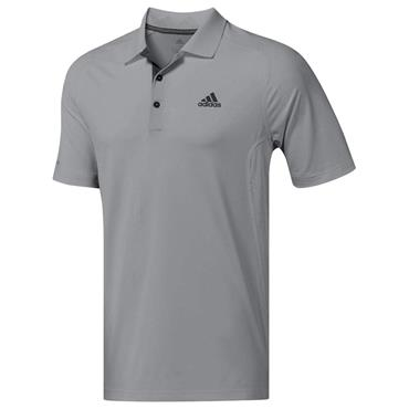 adidas Gents Ultimate Climacool Crestable Polo Shirt Grey