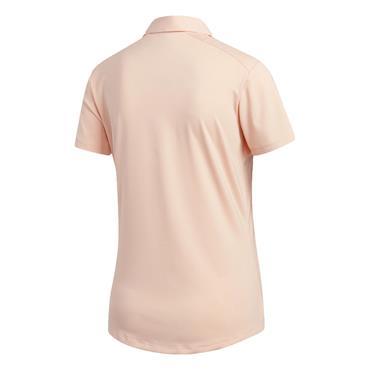 adidas Ladies Ultimate 365 Polo Shirt Peach