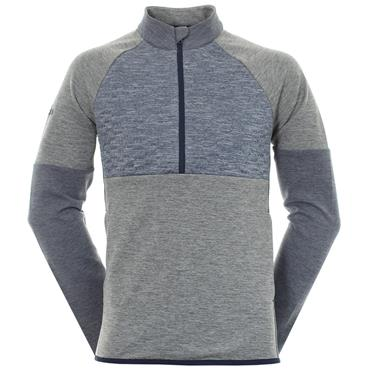 adidas Gents Frostguard 1/4 Zip Jacket Earth
