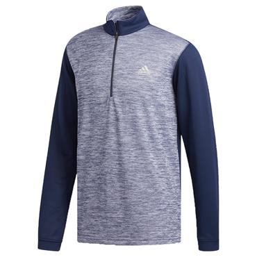 adidas Gents Core ¼ Zip Layering Top Collegiate Navy