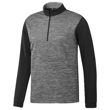 adidas Gents Core ¼ Zip Layering Top Black
