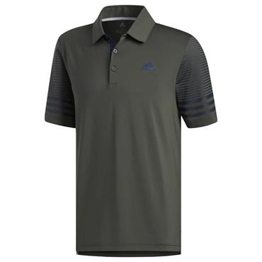 adidas Gents Ultimate365 Gradient Polo Shirt Legend Earth