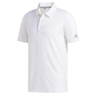 adidas Gents Ultimate365 Solid Polo Shirt White