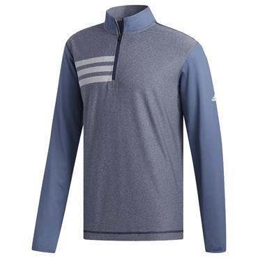 adidas Gents 3- Stripes Competition Sweatshirt Navy