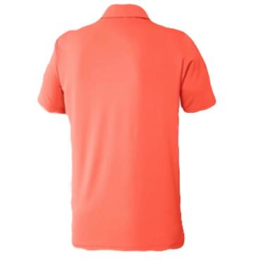 adidas Gents Ultimate365 Solid Crestable Polo Shirt Hi-Res Coral