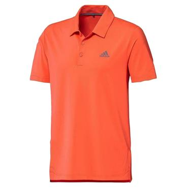 adidas Gents Ultimate365 Solid Polo Shirt Hi-Res Coral