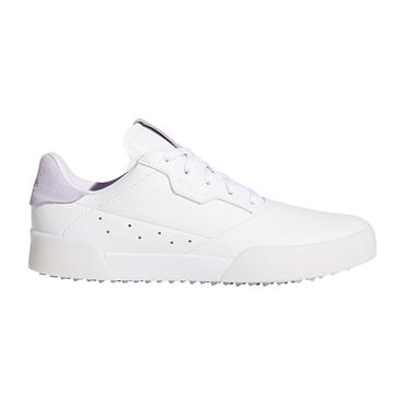 adidas Junior Adicross Retro Shoes White - Purple