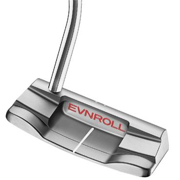 Evnroll ER2 MidBlade Putter Red Gravity Grip Gents RH