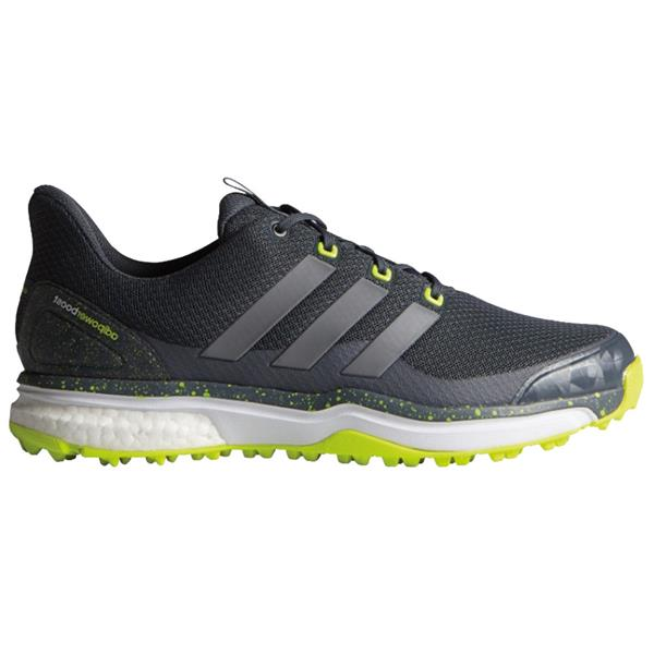 competitive price 7d146 a5e4e adidas Gents Adipower S Boost 2 Golf Shoes Onyx - Iron - Yellow