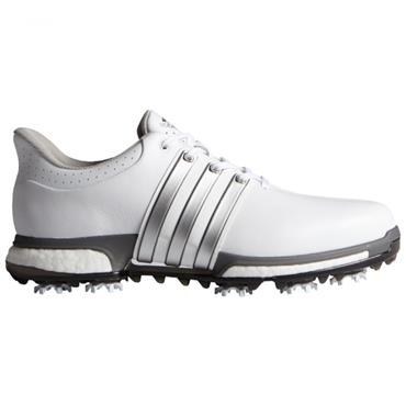 Adidas Gents Tour 360 Boost Shoes White - Silver