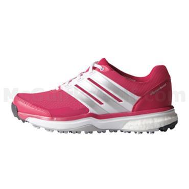 adidas Ladies Adipower Sport Boost Shoes Raspberry - White