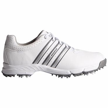 adidas Junior 360 Traxion Golf Shoes White